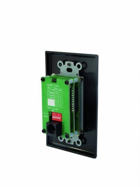 OMNITRONIC MCS-1250R näppäimistö kaukosäädin vahvistimelle MCS-1250