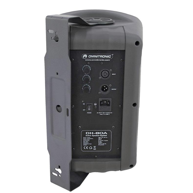 BUNDLE TARJOUS-> PAKETTI Kotikaraoke Set 2. KM-110 mikseri, mikrofoni + kaiuttimet LH-80A + audiokaapelit