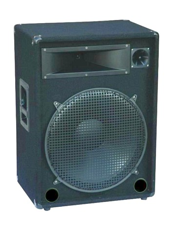 OMNITRONIC DX-1822 3-way speaker, rugged, discoland.fi