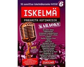 ISKELMÄKARAOKE Iskelmäkaraoke 6 DVD ka, discoland.fi