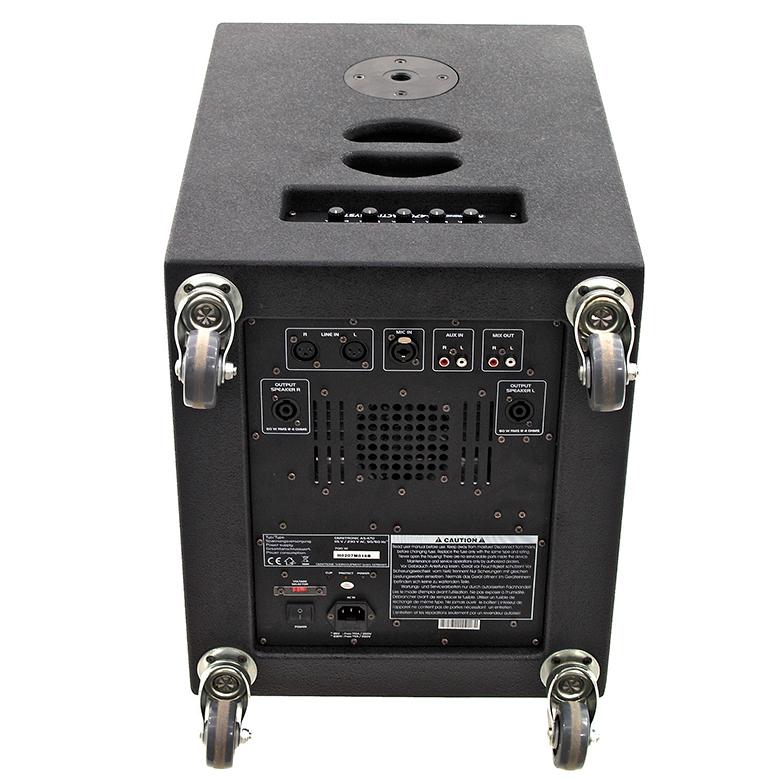 OMNITRONIC AS-470 Aktiivikaiutinsetti 470W sisältää 2 kpl yläpäitä 1kpl basso sekä kaiutin kaapelit. Näppärä setti keikalle. 12