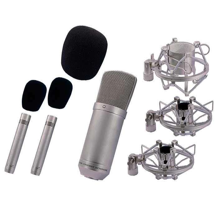 OMNITRONIC SMP-300 Mikrofonisetti. SMP-3, discoland.fi
