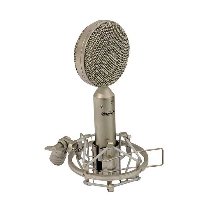 OMNITRONIC VRM-100 PRO Studiomikrofoni. Studio microphone. Ribbon microphone for excellent sound