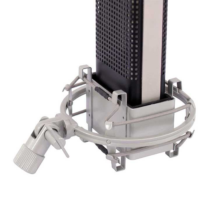 OMNITRONIC VRM-1100 PRO Ammattitason studiomikrofoni, upeassa puukotelossa.Double ribbon microphone for excellent sound