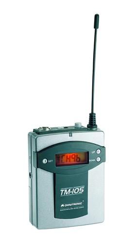 OMNITRONIC TM-105 Transmitter SET W.A.M., discoland.fi