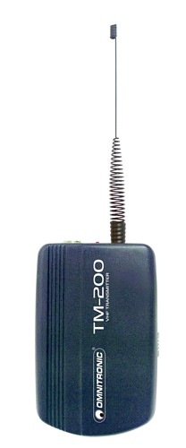 OMNITRONIC TM-200 Transmitter W.A.M.S-04, optional pocket transmitter for W.A.M.S-04