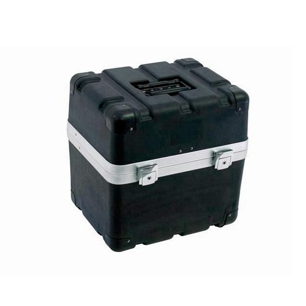 OMNITRONIC Kuljetuslaatikko 9 mikrofonille, ABS-muovia. Microphone case plastic for 9 microphones black
