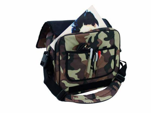 OMNITRONIC Record-bag FB-40L, 40 kpl vinyylejä sekä 1kpl laptop