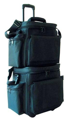 OMNITRONIC Record bag FB-45(T) black, Robust classic for Club DJs!