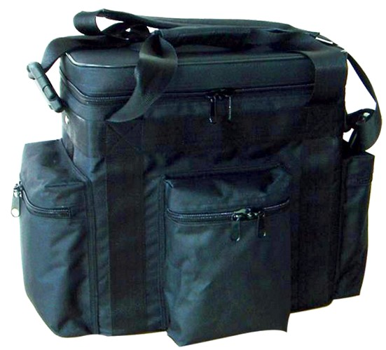 OMNITRONIC Record bag FB-60 black, Extremely robust classic for Club DJs!