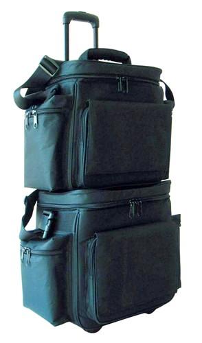 OMNITRONIC Record bag FB-65T black, Comfortable transportation alternative!