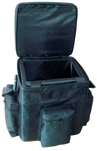 OMNITRONIC Record bag FB-90 black, Extremely robust classic for Club DJs!