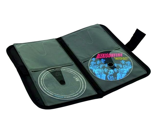 OMNITRONIC CD-bag FB-24 black, CD-kotelo 24 levylle
