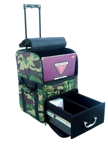OMNITRONIC Combo bag FB40/60T cm#1, Comfortable transportation alternative for records and CDs!