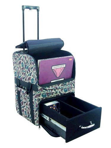 OMNITRONIC Combo bag FB40/60T cm#13, Comfortable transportation alternative for records and CDs!