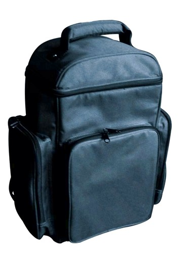 OMNITRONIC Very Practical & Purposed bag 2, black, Käytännöllinen ja monipuolinen reppu!