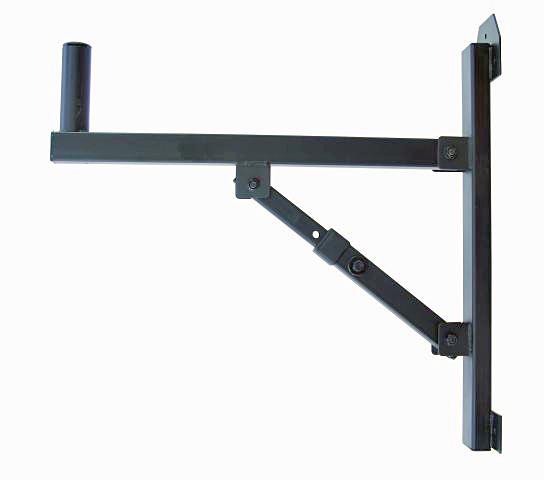 OMNITRONIC Seinäteline kaiuttimelle max kuorma 25kg, mahdollisuus säätää kulmaa portaittain. Mitat 520 x 120 x 520 mm sekä paino 3kg.