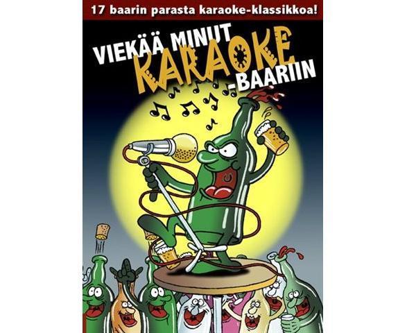 KARAOKE DVD Viekää minut Karaoke-baari, discoland.fi