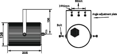 OMNITRONIC PS-15 Projektori-kaiutin 100V, kosteuden sekä kylmän kestävä IP44! Ulko sekä sisäkäyttöön soveltuva kaiutin. Mitat 138 x 205 mm sekä paino 2,2kg.
