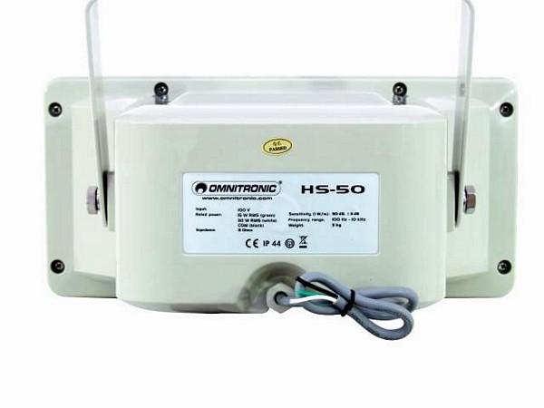 OMNITRONIC HS-50 PA horn speaker 15/30W RMS