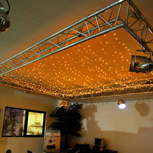 EUROLITE LED garland 230V 200 warm white, discoland.fi