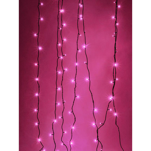 EUROLITE LED garland 230V 200 red LEDs 36m, With Controller, Light chain 26m + Feed line 10 m, Exclusive LED light chain for stylish deco-effects!