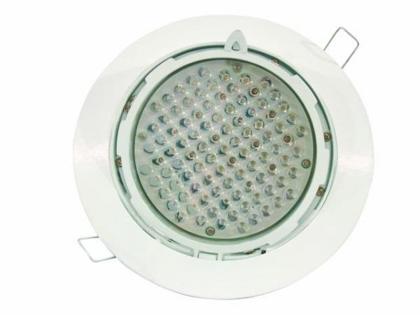 EUROLITE LED DLS-235 RGB 10mm Decorative Recessed Spotlight Compact recessed light for innovative designs, 97 LEDs, 10W