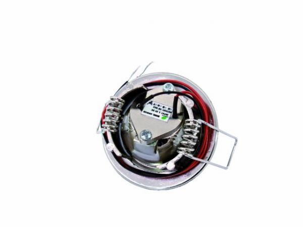 EUROLITE LED DL-42-1-NK-R Ceiling light Swivable LED downlight, IP 33, 1 red high-power LED (1 Watt)