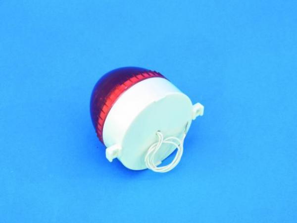 EUROLITE Wall strobe, round, punainen- red, Seinään kiinteästi asennettava strobo, saatavissa 6 eri väriä
