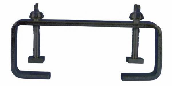 EUROLITE TCH-50/20H C-hook 20 cm for 50 pipe, max. load 50 kg, black