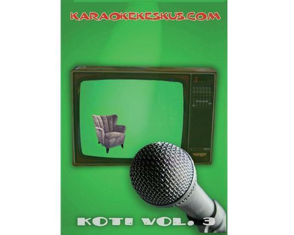 KARAOKE DVD Karaokekeskus Koti 3 DVD, discoland.fi