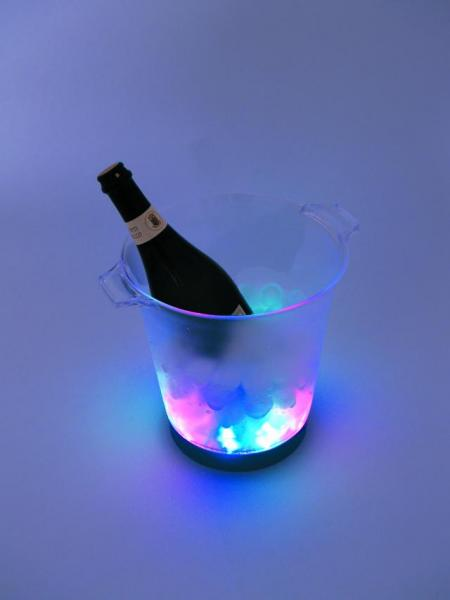 EUROLITE Tuote Lopetettu LED Ice Bucket,, discoland.fi
