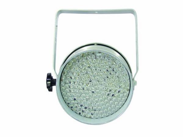 POISTO Eurolite LED PAR-64 spot valkoiset LEDIT 183x 10mm LEDs white 3200K 25-30°, 30W, alu, Professional Spot as LED DMX model!