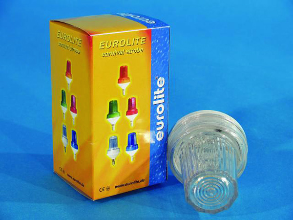 EUROLITE LED Strobe E-14 base, Clear , discoland.fi