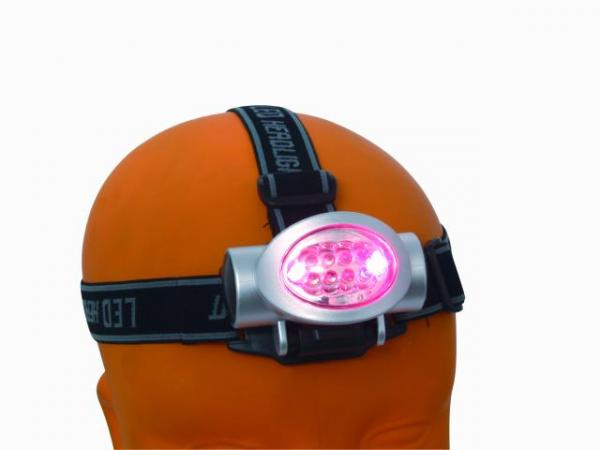 EUROLITE LED head lamp 10 LEDs, LED otsalamppu 10 LEDillä