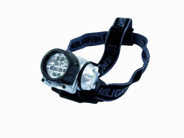 EUROLITE LED head lamp 14 LEDs, LED otsa, discoland.fi