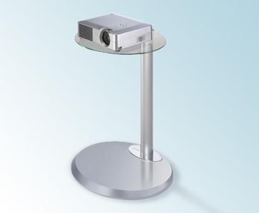 MELICONI Flat Vip Vision Projektoripöytä, Max. kantavuus 10 kg, hopea