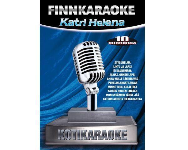 DVD FINNKARAOKE 10 SUOSIKKIA Katri Helen, discoland.fi