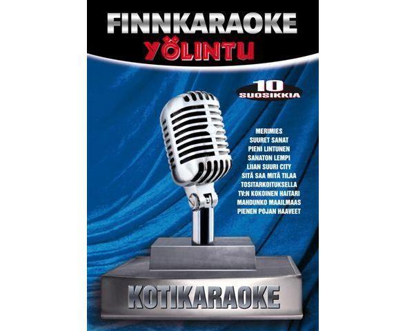 DVD FINNKARAOKE 10 SUOSIKKIA Yölintu, discoland.fi