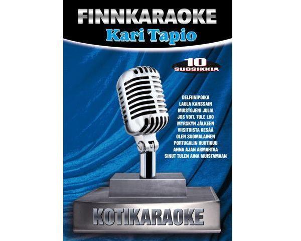 FINNKARAOKE 10 SUOSIKKIA Kari Tapio - Ka, discoland.fi
