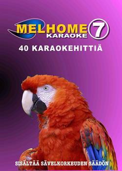 MELHOME Vol 7 KARAOKE DVD levyllä on 40, discoland.fi