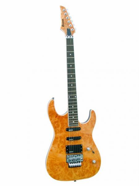 DIMAVERY FR-600 E-Guitar, Burl top, discoland.fi