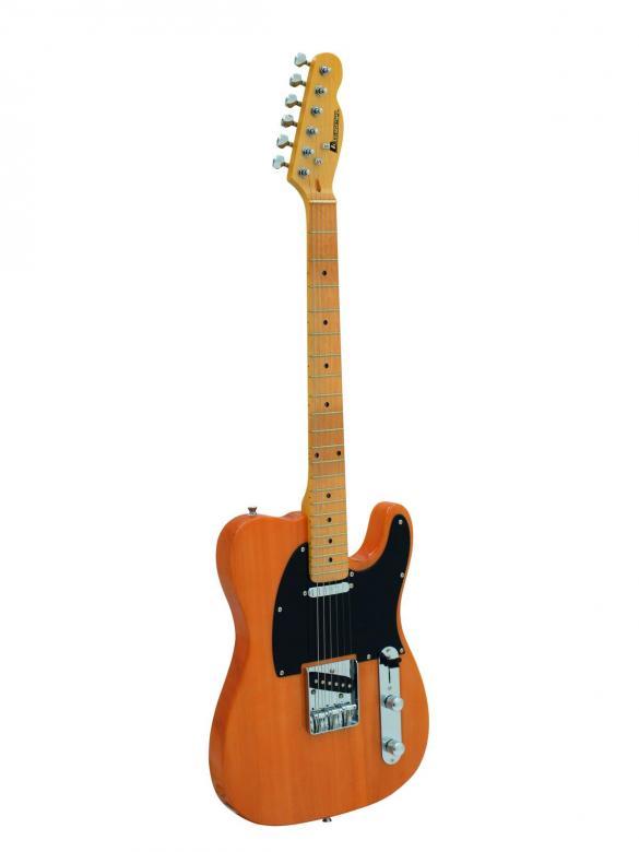 DIMAVERY Telecaster TL-201 E-Guitar, Hon, discoland.fi