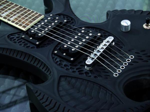 DIMAVERY CRG-500 E-Guitar, black matt