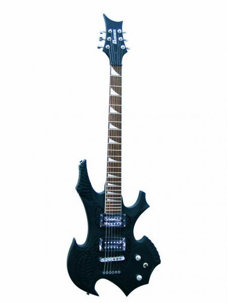 DIMAVERY CRG-500 E-Guitar, black matt, discoland.fi