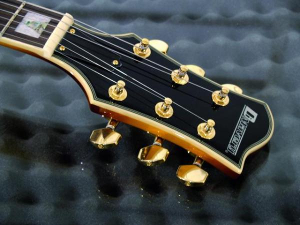 DIMAVERY VR-600 Vollreson E-Guitar Brown Sunburst