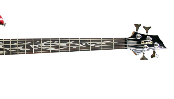 DIMAVERY MF-100 Premium 4-string E-Bass, Color Burn, Todella UPEA Bassokitara Kohtuu Hintaan!!