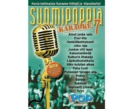 SUOMIPOP Suomipoppia Vol 7 karaoke DVD l, discoland.fi