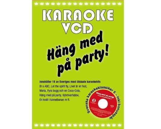KARAOKE DVD Häng Med På Party Vol 1 (V, discoland.fi
