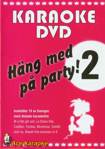 KARAOKE DVD Häng Med På Party Vol 2 (D, discoland.fi
